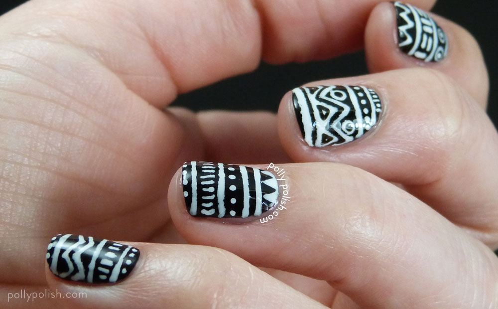 12 Most Beautiful And Gorgeous Nail Art Designs For Navratri 2015