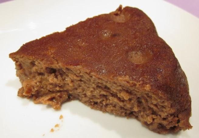 Pudding chocolat amande châtaigne, sans gluten et sans lactose