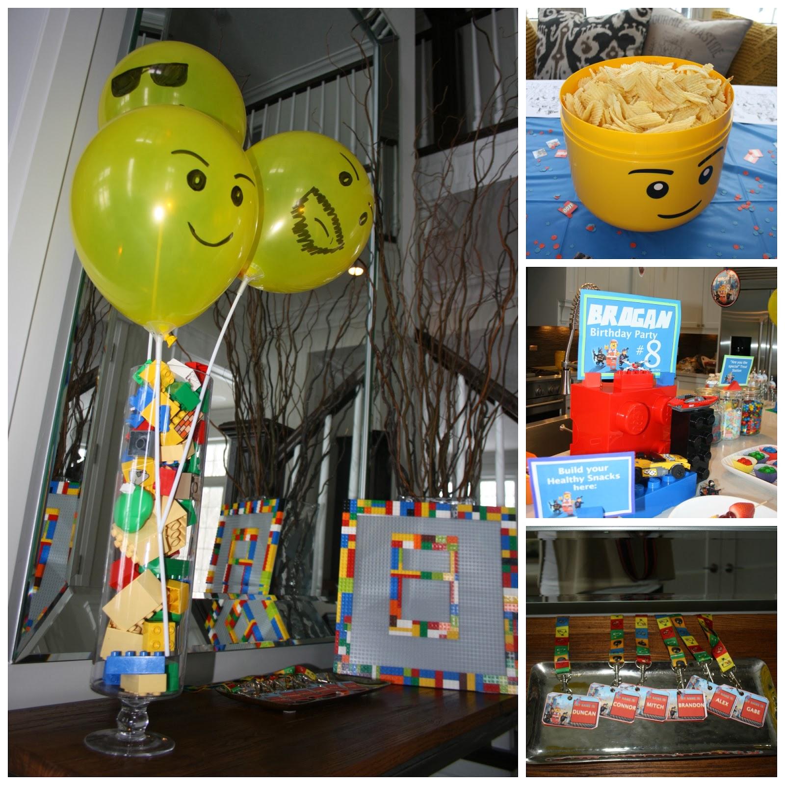 Benedetti Buzz: Lego Party Ideas