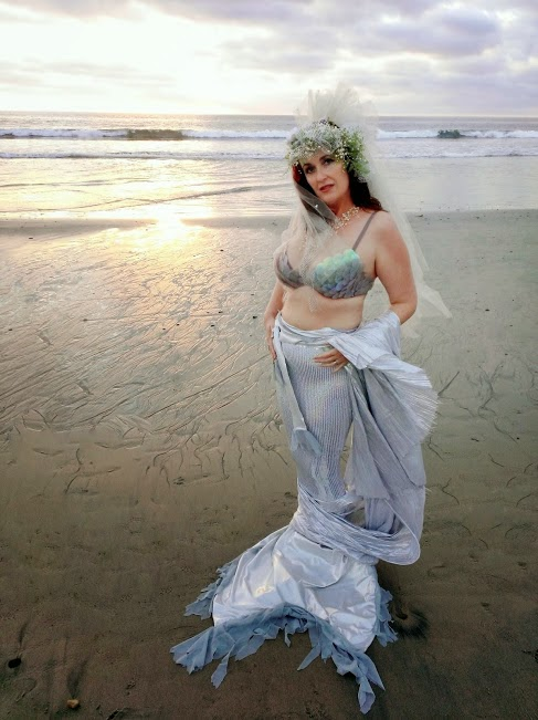 sea bride mermaid shelly