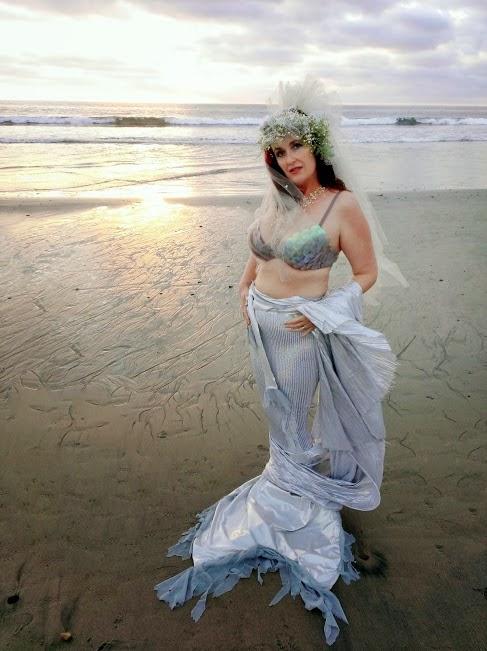 sea bride mermaid shelly