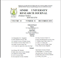 Sindh University Research Journal