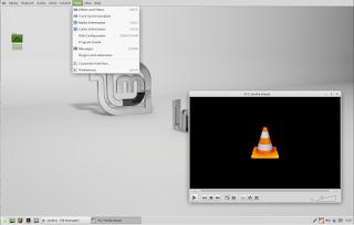 TopMenu Xfce Linux Mint