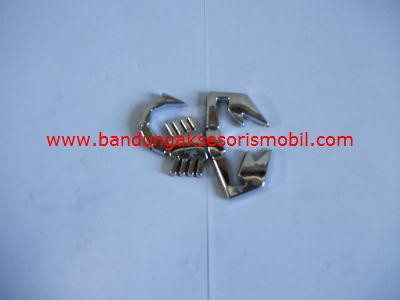 Emblem Car Logo Scorpio Jantan