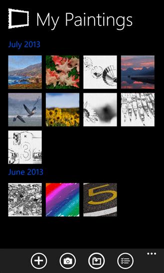 تطبيق مجاني مميز لرسم وإنشاء الصور لويندوز فون ونوكيا لوميا Fresh Paint xap
