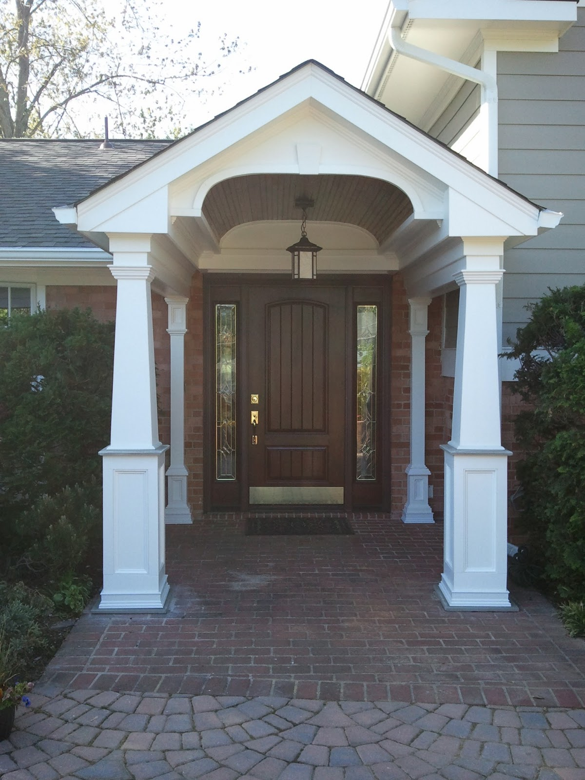 In and Out Home Improvement Design: Portico Design