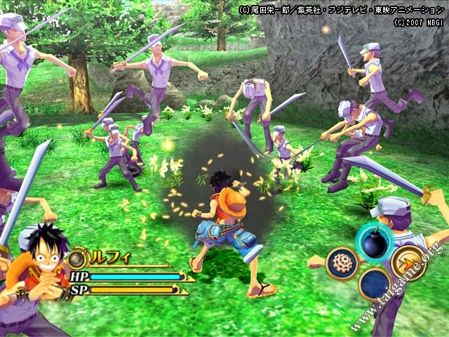 Download Game PC One Piece Unlimited Adventure