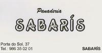 PANADERÍA SABARÍS