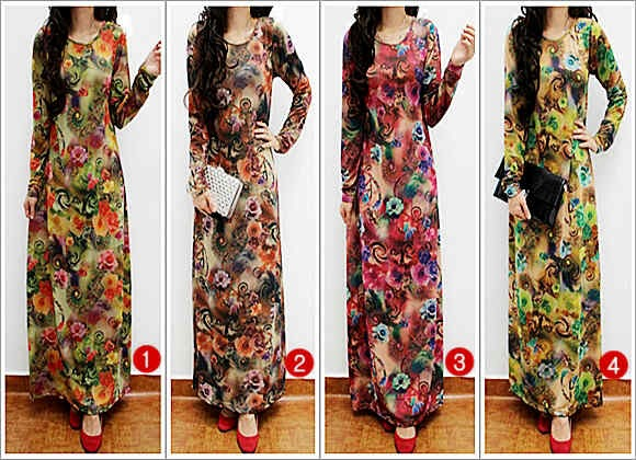 Elfara Maxi Dress