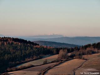 Tatry z góry Chyrowa, 2015.11.25. fot. Dawid Szpaderski