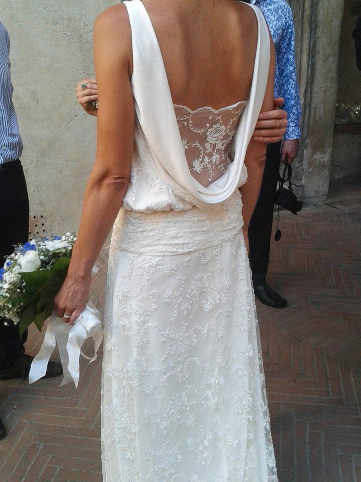Preferenza Storm in a TeaCup: L'abito da sposa dal gusto vintage anni '20 HE24