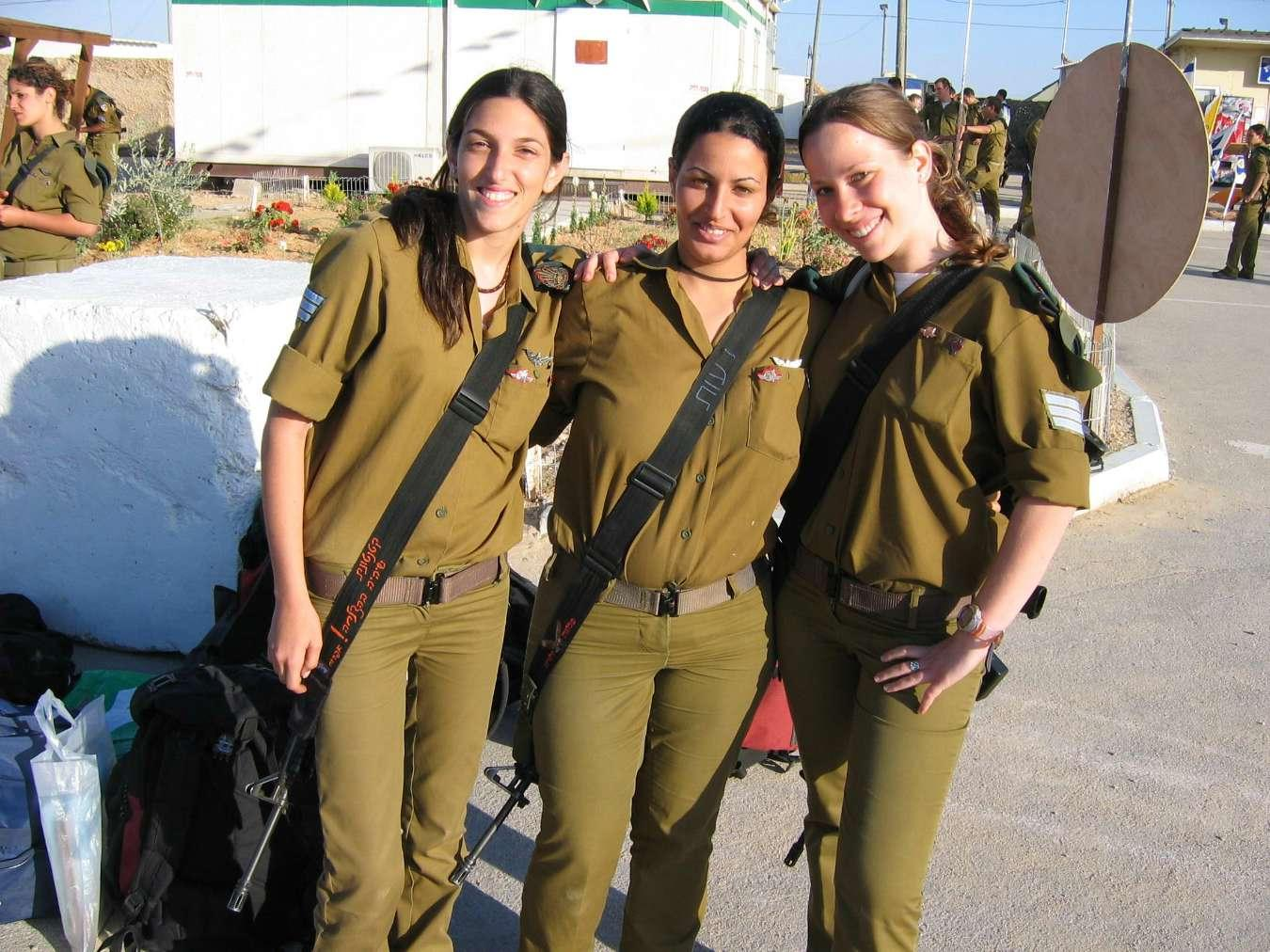 girl military nude israeli army