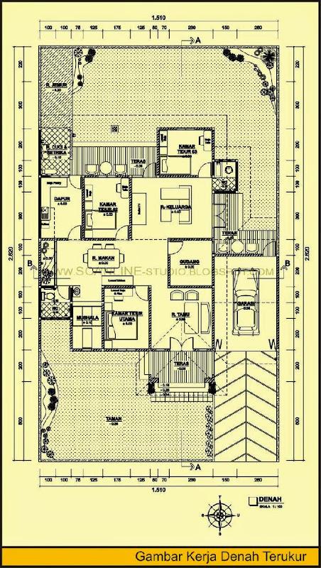 Denah Rumah Minimalis Ala Jepang   TipeRumahMinimalis