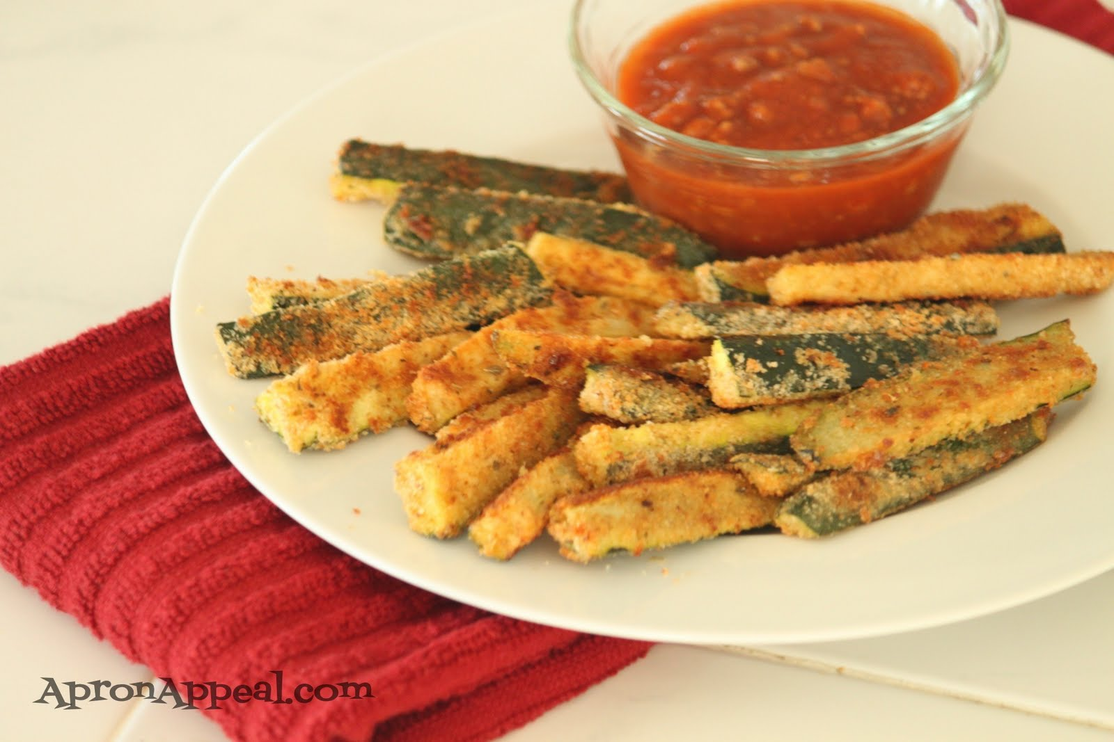 Apron Appeal: Baked Parmesan Zucchini Fries