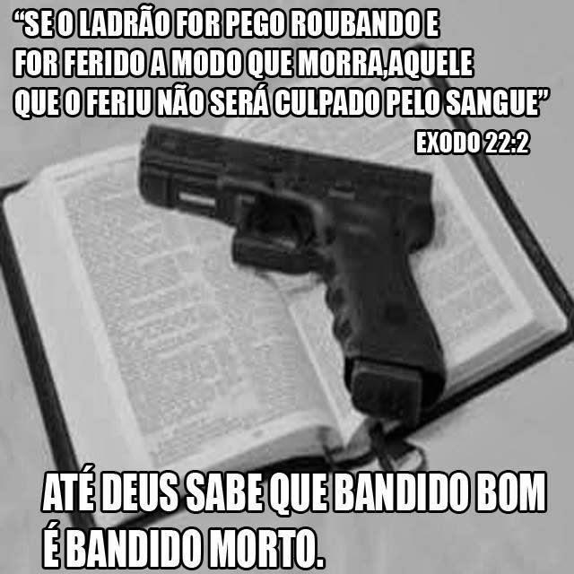 Para casos que não tem mais jeito, até a Bíblia mostra a solução!