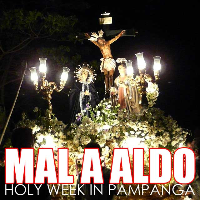 Pampanga: Holy Week practices and Mal a Aldo calendar