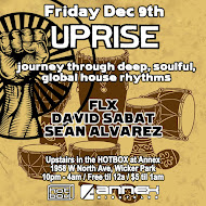 Friday Dec.9th: UPRISE! @ Annex