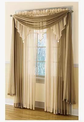 Ideas for window curtains for living room 2014 part 1 for Modelos de cortinas para salas