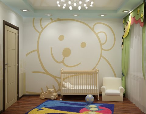 Creative juice what were they thinking thursday murals for Boys wall mural