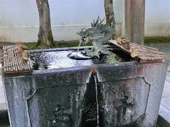 修禅寺手水