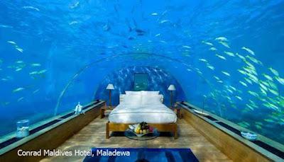 Conrad Maldives Hotel, Maladewa