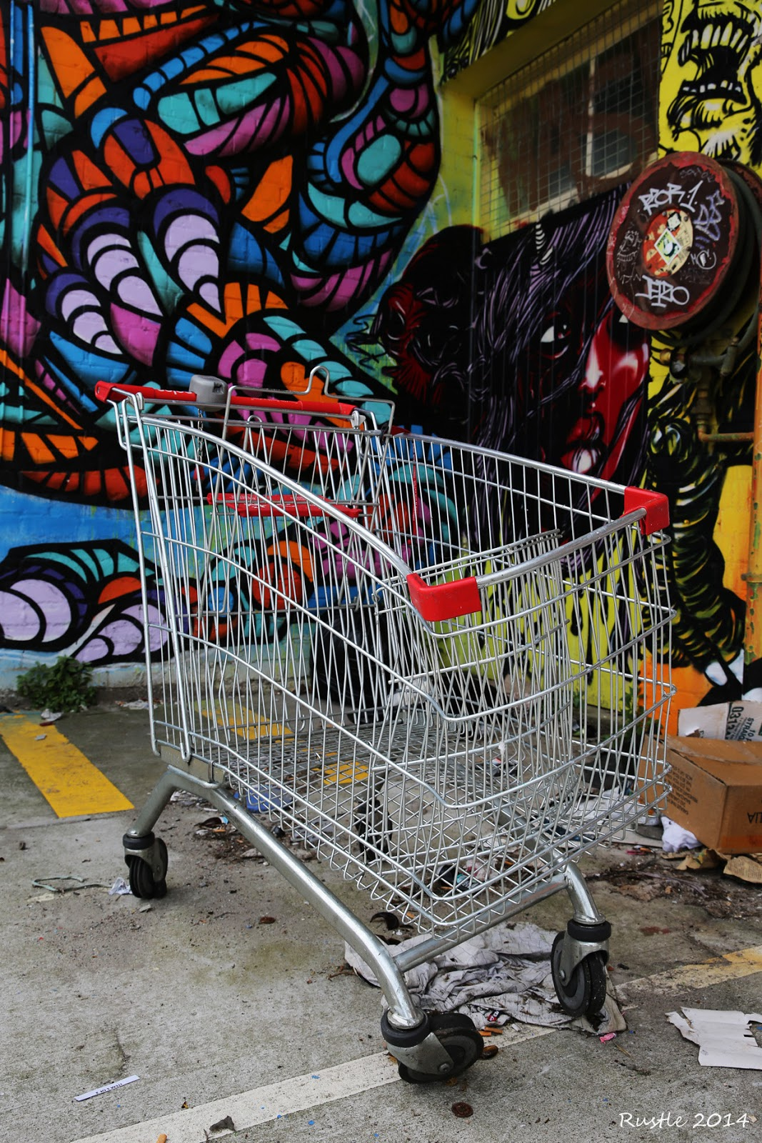 Dali's Shopping Trolley