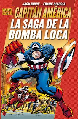 Portada del Capitán América-Saga de la Bomba Loca-Panini