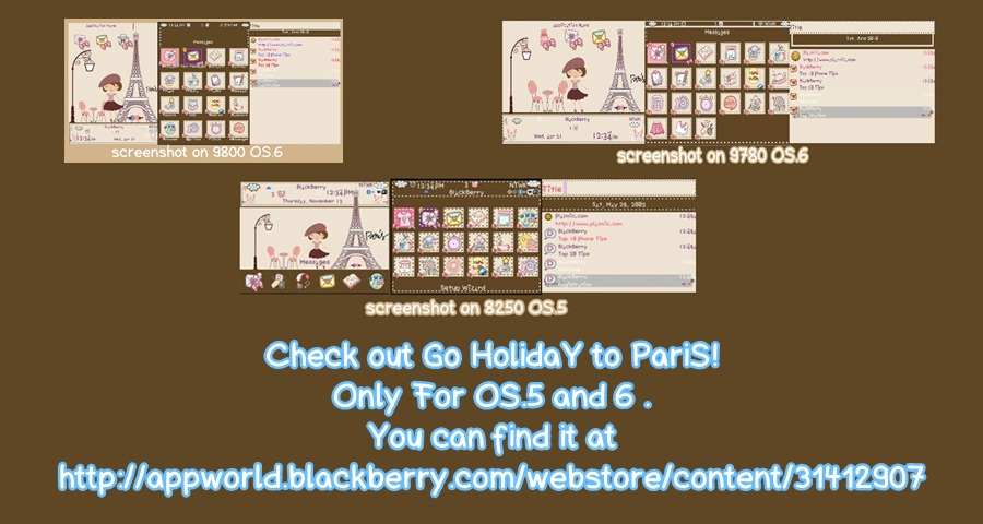 GO HOLIDAY TO PARIS AT APP WORLD FOR OS.5 AND 6