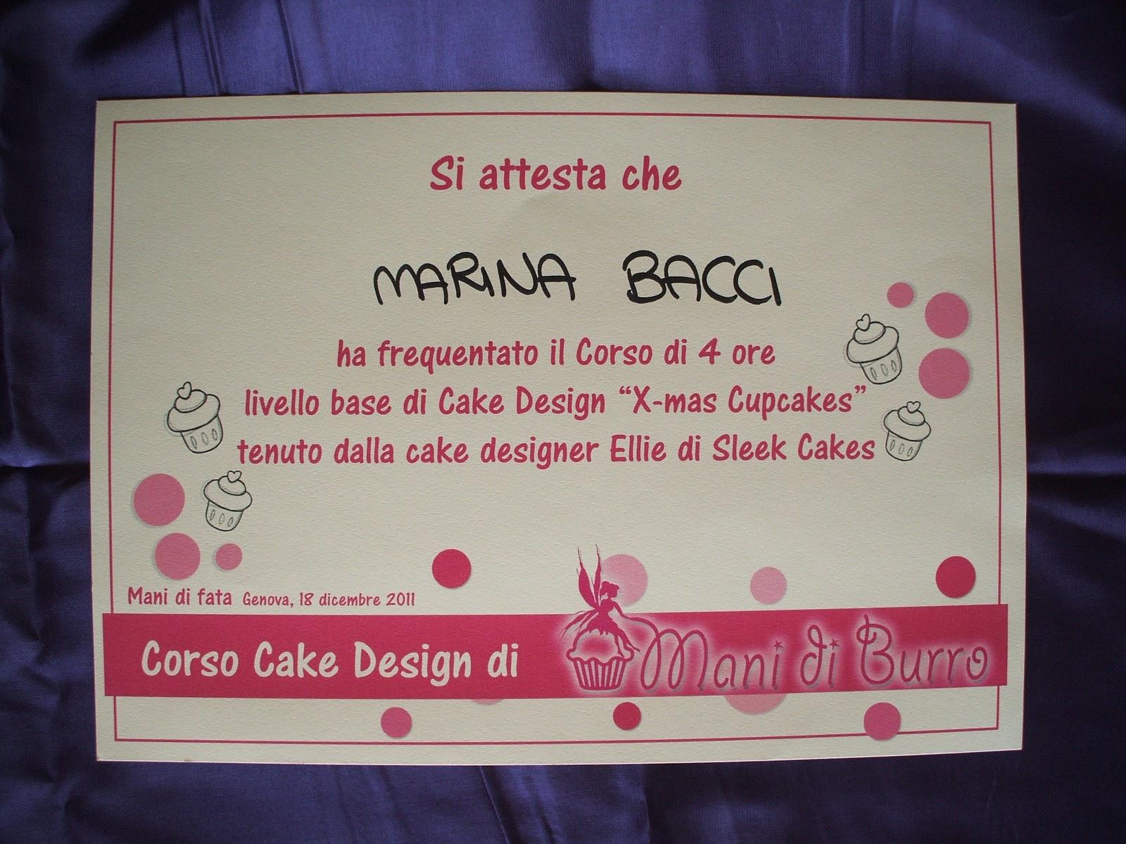 Corso Di Cake Design Ragusa : Le Cupcakes della Marina: Corso Cake Design