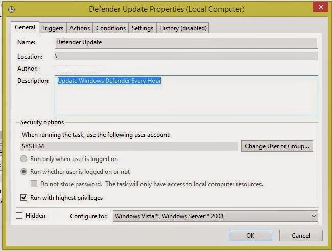 microsoft security essentials manual update definitions