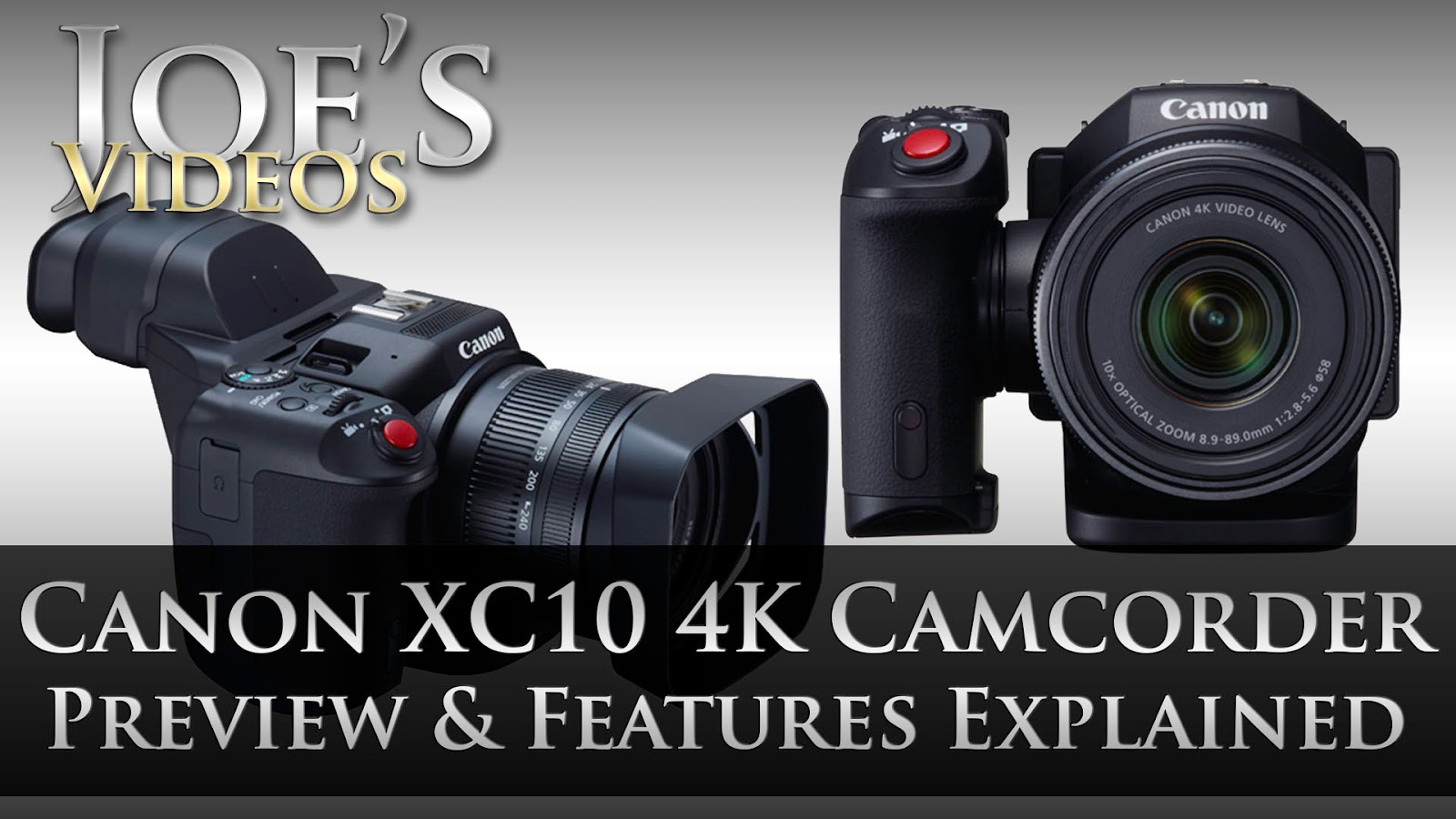 Canon XC10 Ultra HD 4K Camcorder Preview, Features Explained & My Opinions | Joe's Videos