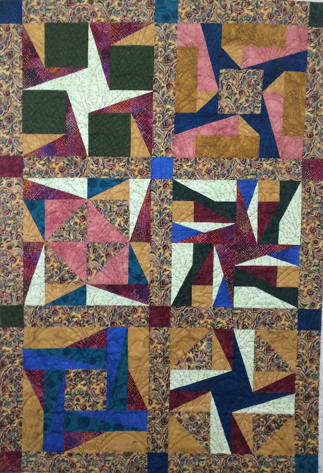 Lynne Capps's Sampler Quilt