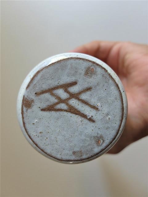céramique signée JF