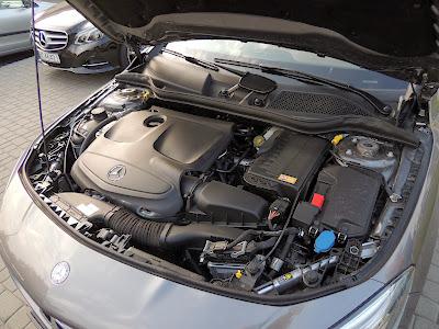 Mercedes CLA - silnik 1.6 turbo