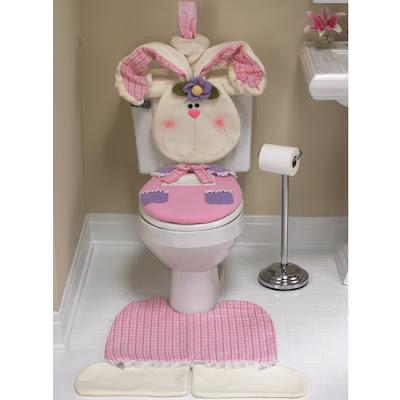 Compartiendo con mis amigas ♥: ♥ Juego de baño coneja con molde