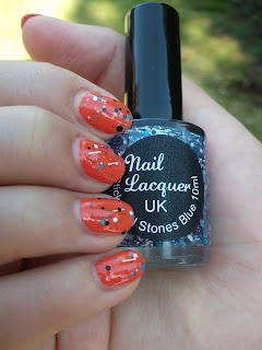 Nail Lacquer UK Sticks and Stones Blue
