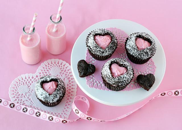 Pinkheartcupcakes - Sevgililer G�n� ��in ��k Haz�rl�klar