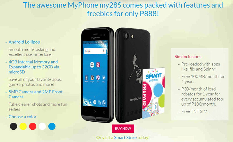 Smart MyPhone My28s