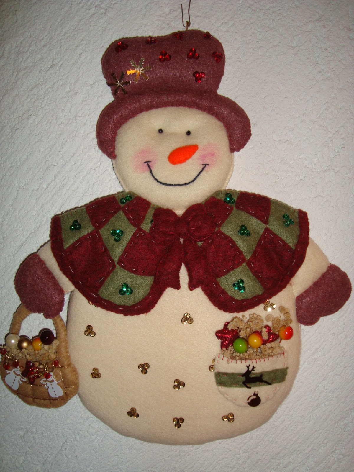 Sra mu eco de nieve manualidades navide as paty for Ver manualidades navidenas