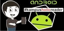 #kampusholicreader for Android