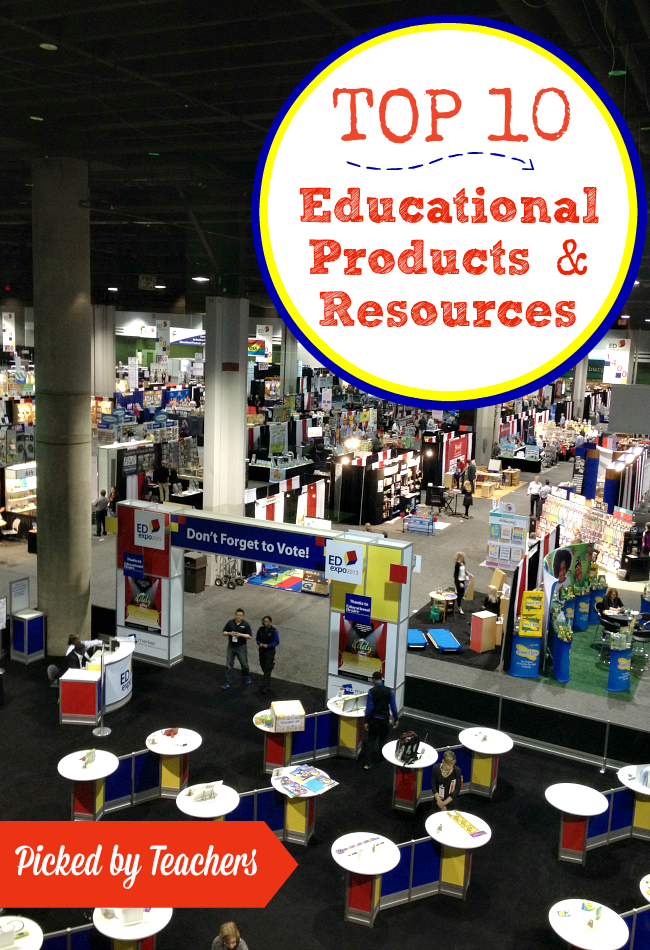 Top 10 Educational Products and Resources for Teachers