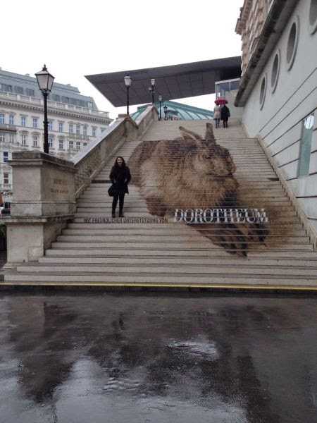 stairs art design - Albertina, Vienna