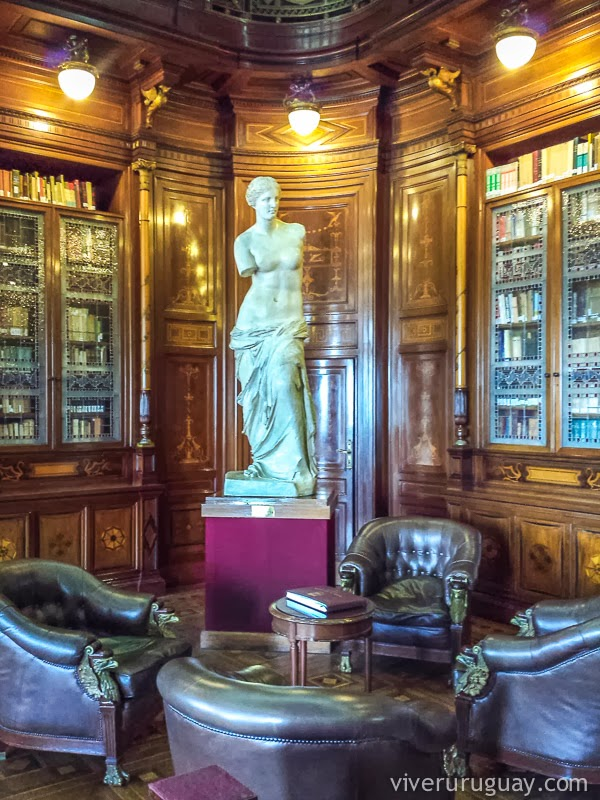 Palacio Legislativo Montevideu Biblioteca