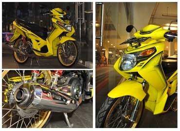 Modifikasi Yamaha Nouvo Z 2005