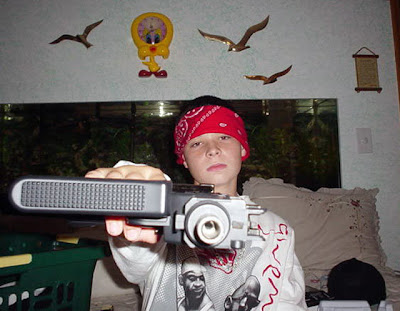 Gangsta kid with Tweety Bird