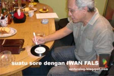 wawancara dengan Iwan Fals, mengupas sisi misteri karya Iwan Fals