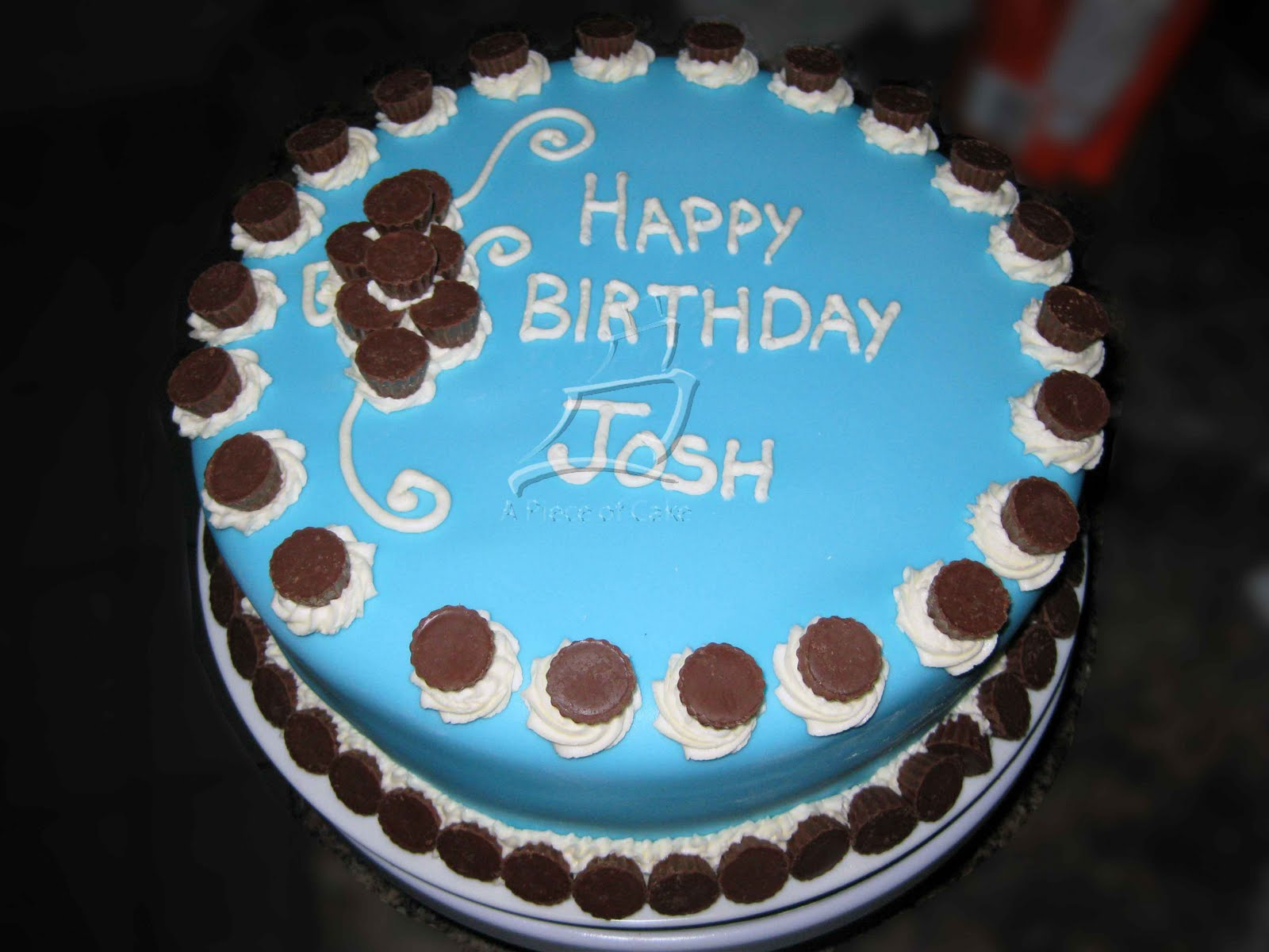 Happy Birthday Cake Joshua Images ~ A piece of cake josh s birthday