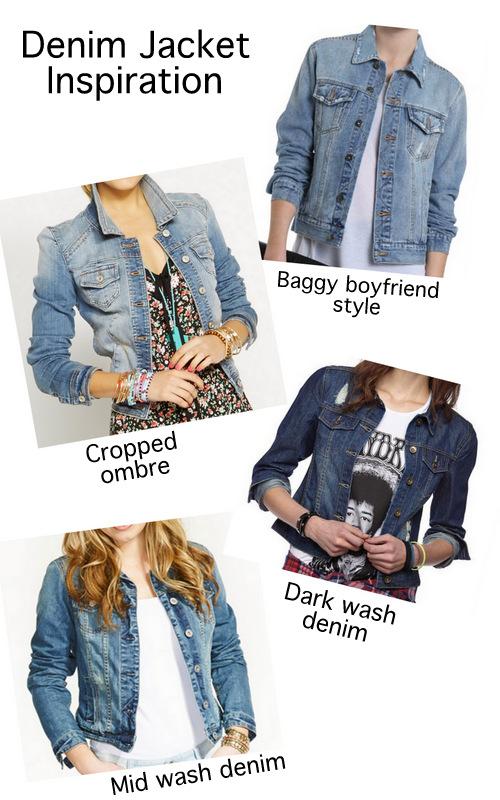 How to wear a denim jacket, ways to wear a denim jacket, denim jacket inspiration, denim jacket outfits, cropped denim jacket, dark wash denim jacket, baggy boyfriend denim jacket, mid wash denim jacket,