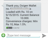 free 10rs recharge from oxigen wallet