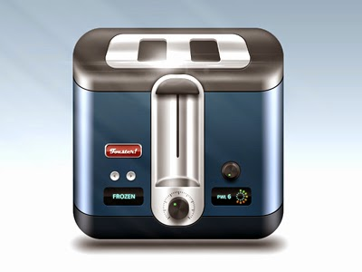 toaster icon. Aaron Sampson